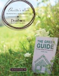Download Professional Development Brochure - Dearborn
