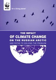 Impact of Climate Change on the Russian Arctic and Paths to ... - WWF