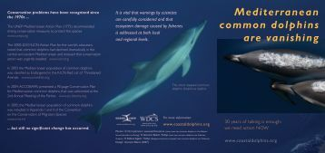 for managers - Cetacean Alliance
