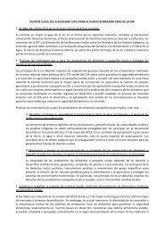 Puntos Clave de la Sociedad Civil para el Nuevo Borrador ... - CSM