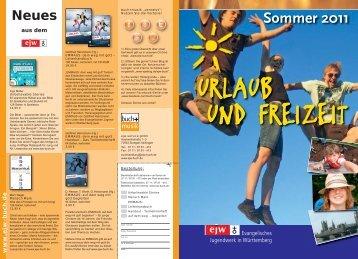 Sommer 2011 - ejw Reisen