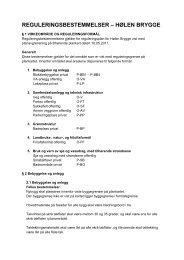 reguleringsbestemmelser – hølen brygge - Arendal kommune