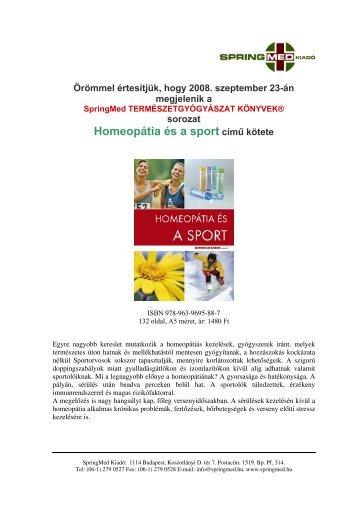 homeopát orvos a fogyás