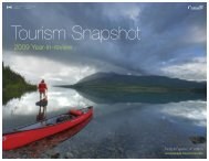 2009 Year-in-review - Tourism, Culture and Recreation