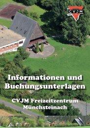 Information und Buchungsheft MST gross.indd - CVJM Würzburg