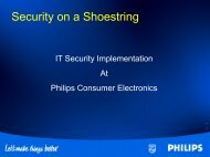 Security On A Shoestring