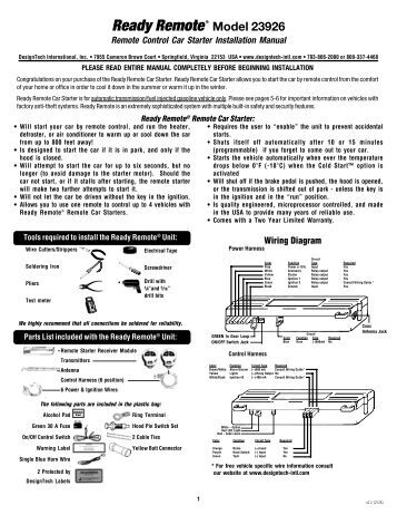 ready remote wiring diagram
