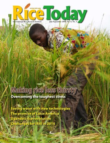 Uganda's rice revolution - Africa Rice Center - cgiar