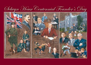 Selwyn HouseCentennial Founder's Day - Selwyn House School