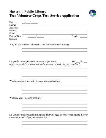 Application Teen 120