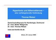 Hypertonie und Atherosklerose - eine ... - Ww-kardio-do.de