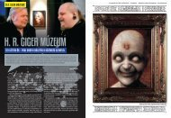 H. R. GIGER MÚZEUM - the little HR Giger Page