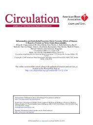 infl and endoth dysf.. - arteriograf.hu