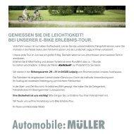Jetzt anmelden! - Automobile Müller
