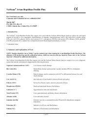 VetScan Avian Reptilian Profile Plus - Abaxis