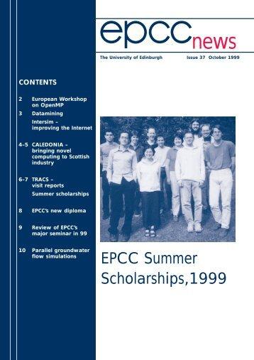 epcc news 37/pages - University of Edinburgh