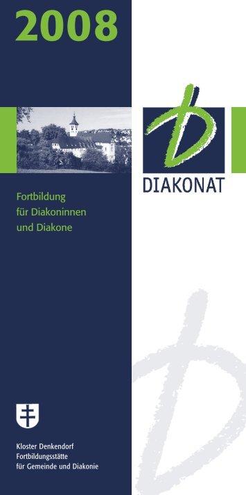 Fortbildung für Diakoninnen und Diakone - Bildungsportal der ...