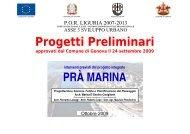Progetto Integrato relativo all'Ambito Pra - Urban Center - Comune ...