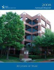 2008 TMLT Annual Report
