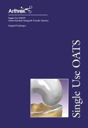 Single Use OATS® - (Osteochondral Autograft Transfer System)