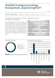 "WALSER Vermögensverwaltung Strategiefonds ""KapitalertragPLUS"""