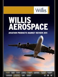 AVIATION PRODUCTS MARkET REVIEW 2011 - Willis