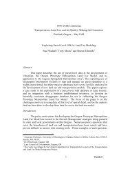 Exploiting Parcel-Level GIS for Land Use Modeling - CiteSeerX