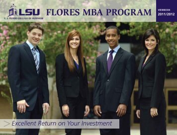 flores mba program - EJ Ourso College of Business - Louisiana ...