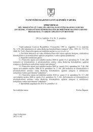 Dėl mokesčio už vaikų išlaikymą - Panevėžio rajono savivaldybė