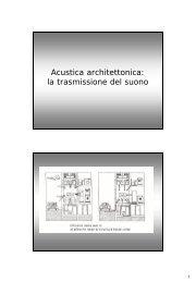 Lezione n° 11 - prof. Romagnoni