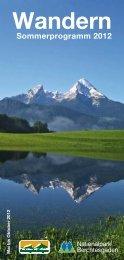 Wandern - Nationalpark Berchtesgaden - Bayern
