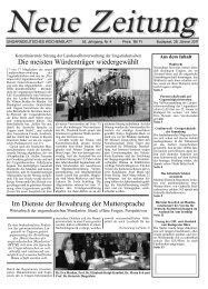"""Tagung: """"Mit dem Wind nach Westen"""" – Flucht in die ... - Neue Zeitung"""