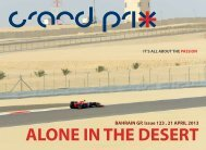 BAHRAIN GP, Issue 123 , 21 APRIL 2013 - Grandprixplus