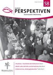PERSPEKTIVEN 58 - Missionarische Dienste