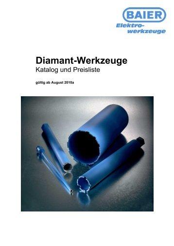 Diamant-Werkzeuge - Industrievertretung R. Krause GmbH