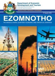 Ezomnotho 4th Quarter - Department of Economic Development and ...