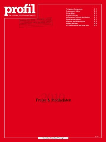 Preise & Mediadaten - Hope.co.at