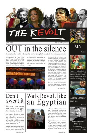 The Revolt, Issue 6 - Penn State Wilkes-Barre - Penn State University