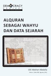 alquran sebagai wahyu dan data sejarah - Democracy Project
