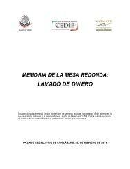 Mesa Redonda Lavado De Dinero - Cámara de Diputados