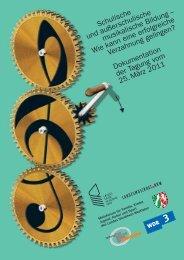Schulische und außerschulische musikalische Bildung - Miz.org