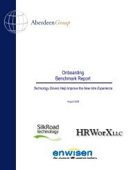 Onboarding Benchmark Report: Technology ... - the ATTC Network