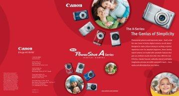 Data Sheet - Porters Camera Store