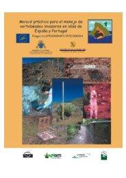 Manual práctico para el manejo de vertebrados invasores en islas ...