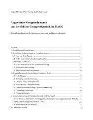 Angewandte Gruppendynamik und die Sektion Gruppendynamik im ...