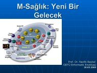 M-Sağlık: Yeni Bir Gelecek - ulusal mobil devlet konferansı
