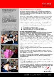 CPA Australia case study - Volunteering Qld