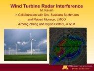 Wind Turbine Radar Interference Mitigation