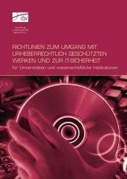 richtlinien zur verwendung von urheberrechtlich geschütztem ... - IFPI