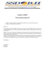 Ministarstvo (za ljudska prava - Svjetski Savez Dijaspore Bosne i ...